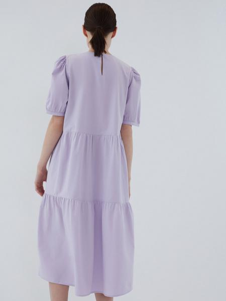 Платье с воланами - фото 13