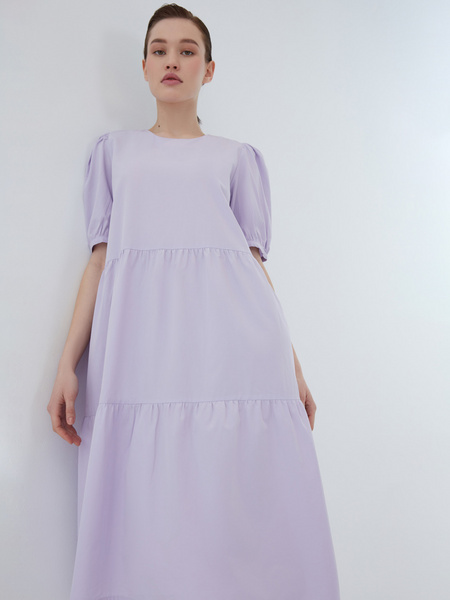 Платье с воланами - фото 14