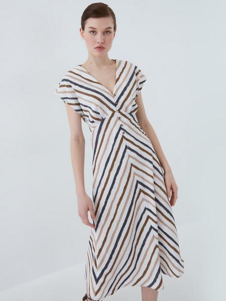 Платье на пуговицах - фото 6