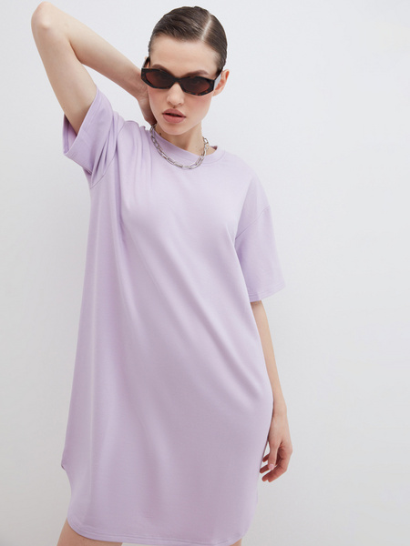 Платье-футболка - фото 1