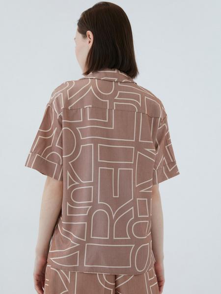 Блузка с принтом - фото 11
