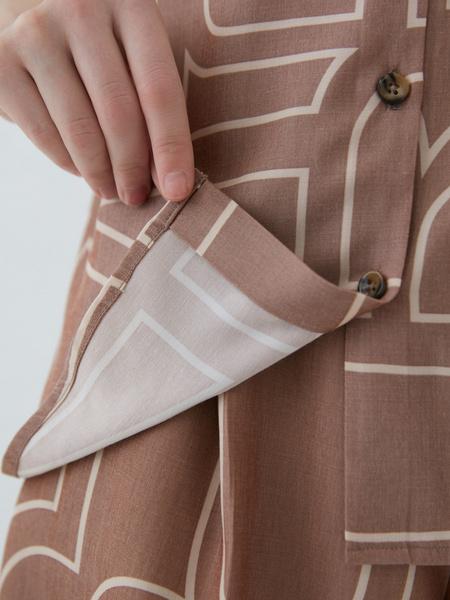 Блузка с принтом - фото 8