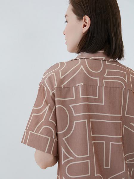 Блузка с принтом - фото 10