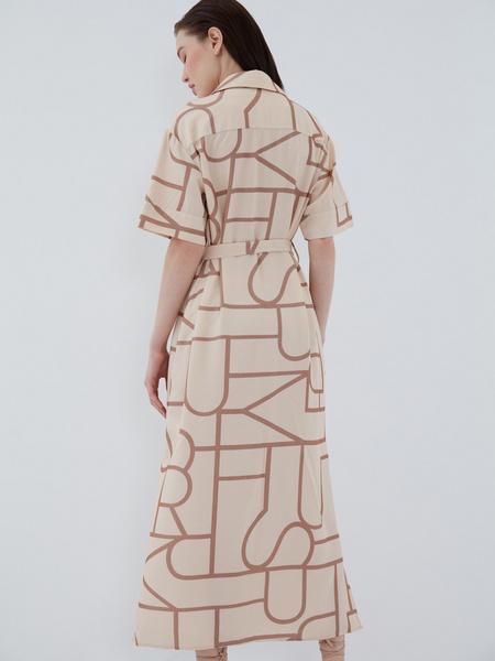 Платье с принтом - фото 9