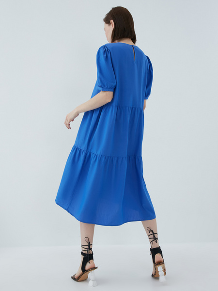 Платье с воланами - фото 10