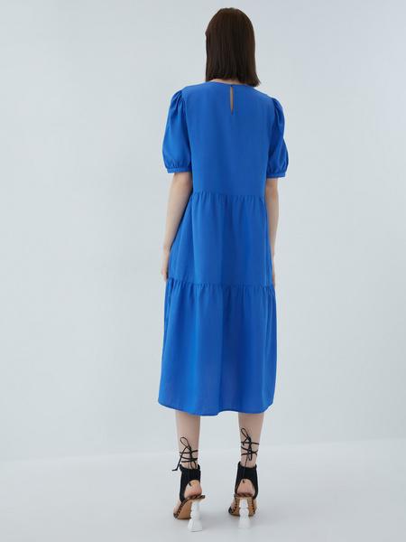 Платье с воланами - фото 11