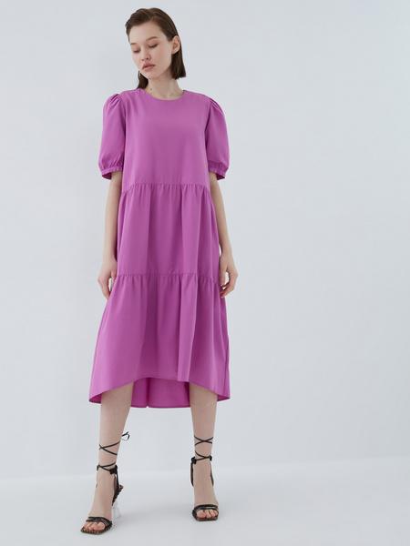 Платье с воланами - фото 2