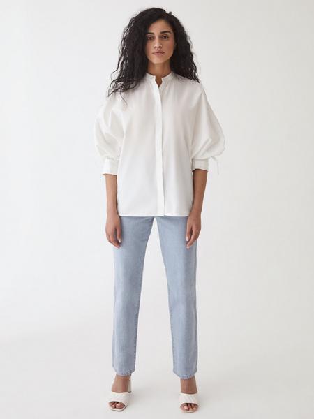 Блузка с завязками - фото 12
