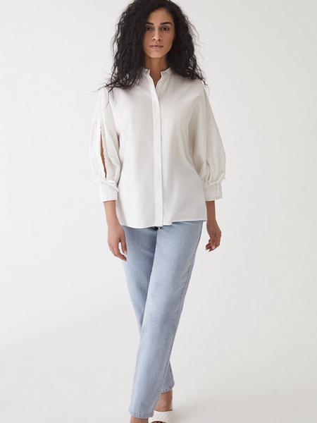 Блузка с завязками - фото 8