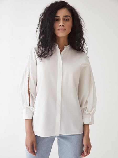 Блузка с завязками - фото 9
