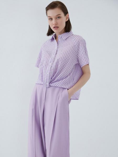 Хлопковая блузка - фото 1