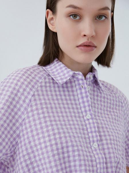Хлопковая блузка - фото 3