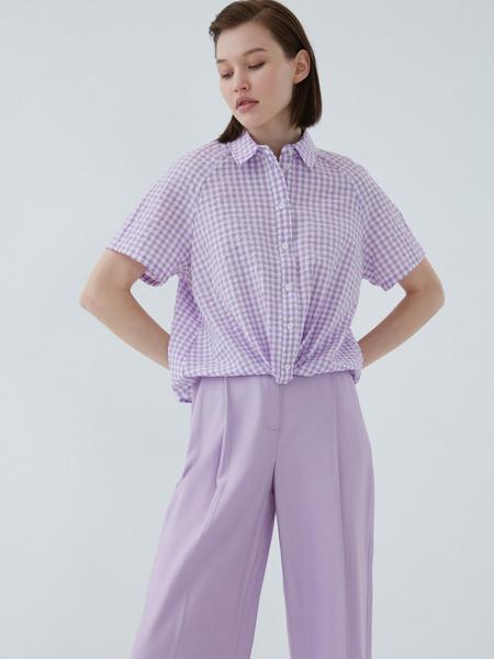 Хлопковая блузка - фото 4