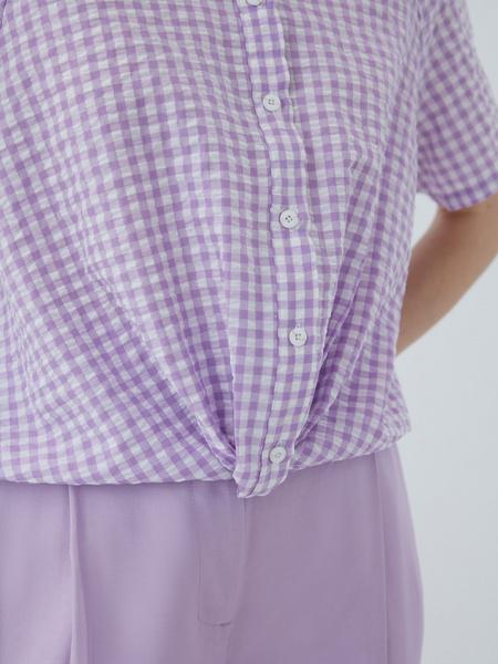 Хлопковая блузка - фото 5