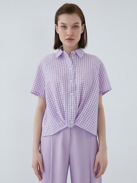 Хлопковая блузка - фото 6