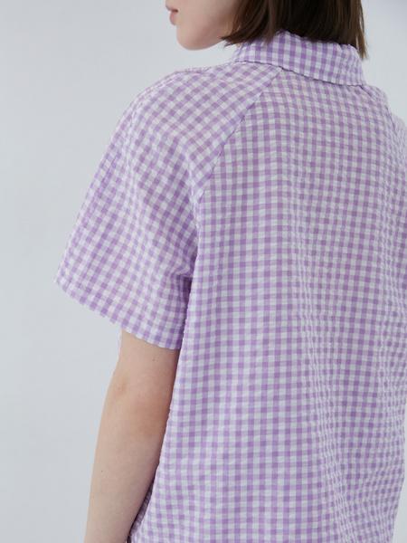 Хлопковая блузка - фото 7