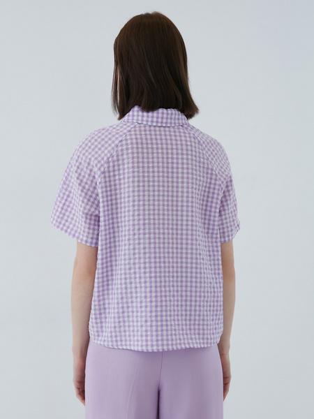 Хлопковая блузка - фото 8