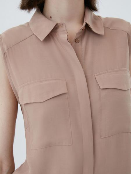 Блузка без рукавов - фото 7