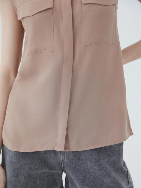 Блузка без рукавов - фото 8