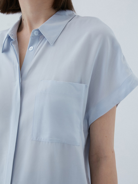 Блузка из вискозы - фото 5