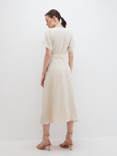 Струящееся платье - фото 9
