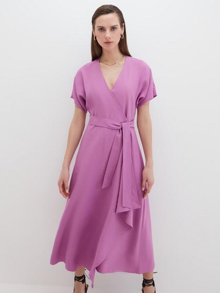 Струящееся платье - фото 1