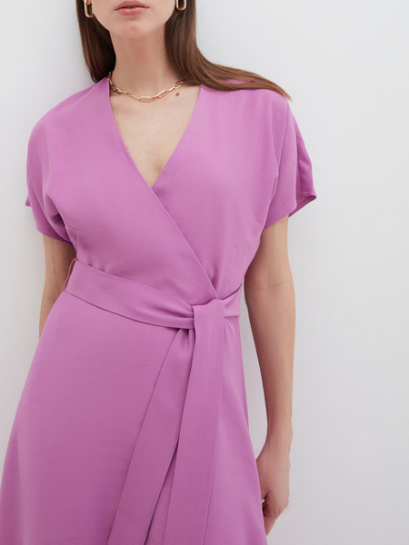 Струящееся платье - фото 4