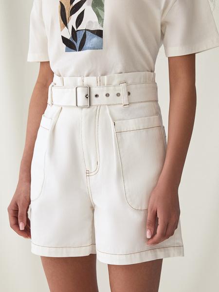 Джинсовые шорты - фото 7