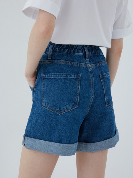 Джинсовые шорты - фото 10