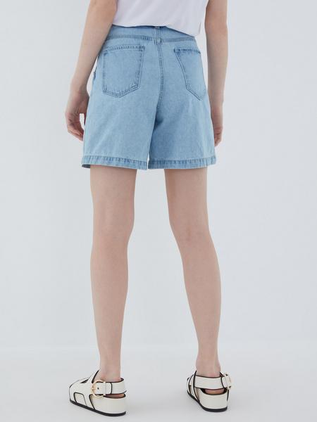 Джинсовые шорты - фото 9