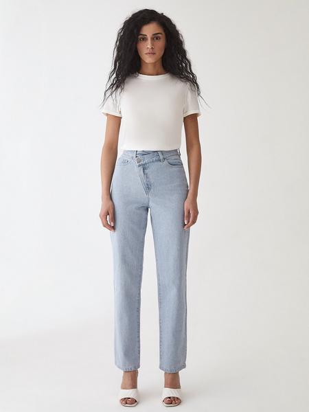 Прямые джинсы - фото 2