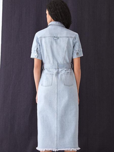 Джинсовое платье - фото 11