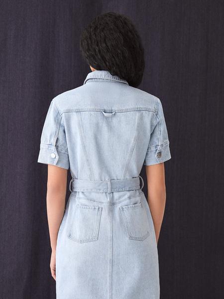 Джинсовое платье - фото 10