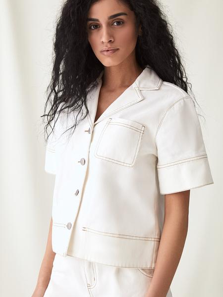 Джинсовая рубашка - фото 6