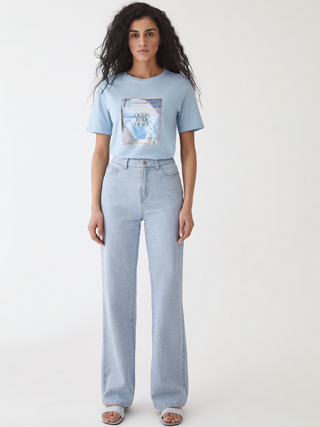 Прямые джинсы - фото 12