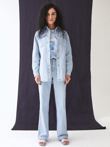 Прямые джинсы - фото 13
