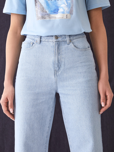 Прямые джинсы - фото 5