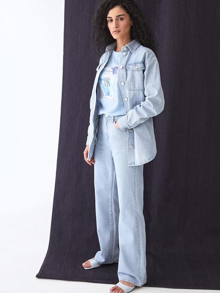 Прямые джинсы - фото 8
