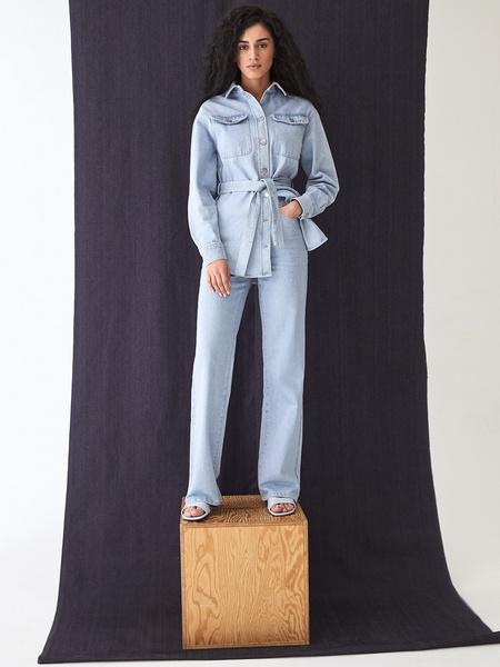 Прямые джинсы - фото 11