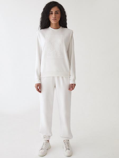 Трикотажные брюки - фото 11