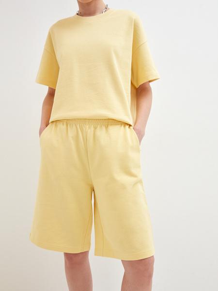 Трикотажные шорты - фото 3