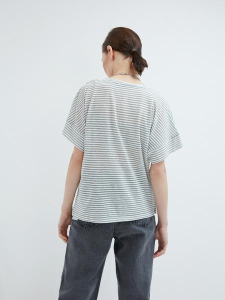 Полосатая футболка - фото 6