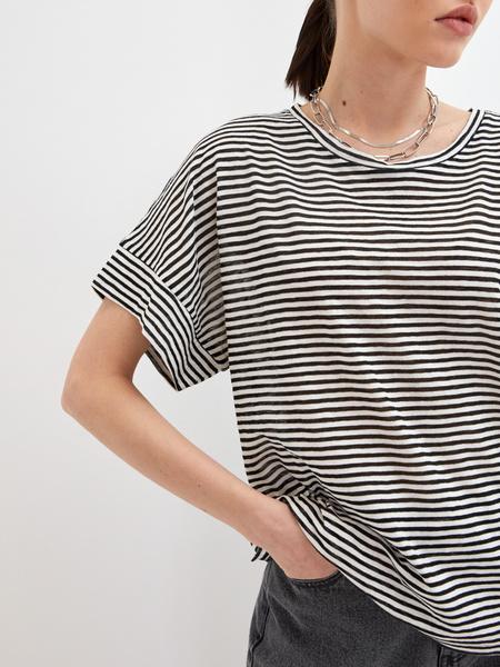 Полосатая футболка - фото 3