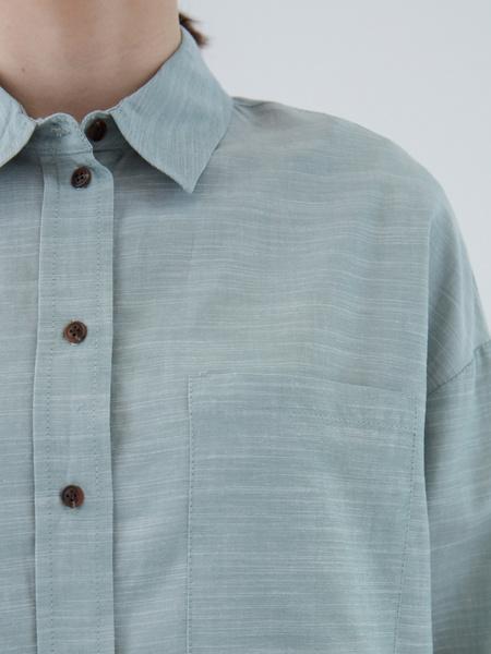 Рубашка из вискозы - фото 6