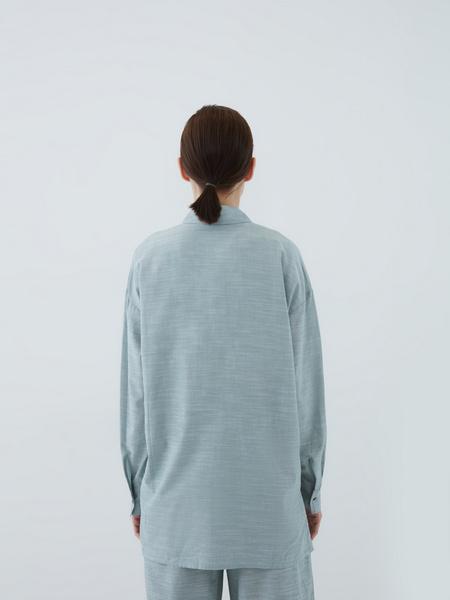 Рубашка из вискозы - фото 9