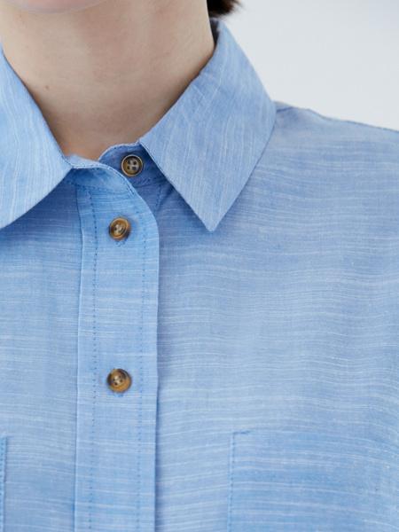 Рубашка из вискозы - фото 5