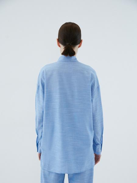 Рубашка из вискозы - фото 7