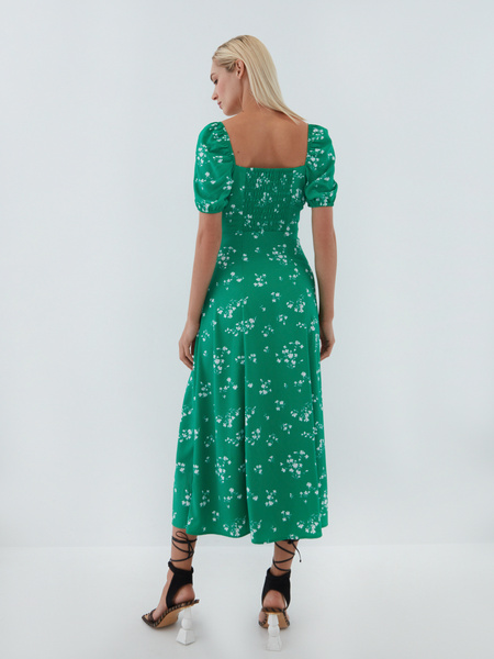 Струящееся платье - фото 11