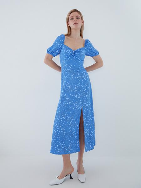 Струящееся платье - фото 2