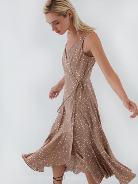 Платье на запах - фото 5